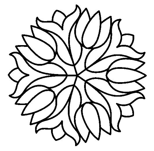 Best Simple Mosaic Coloring Pages