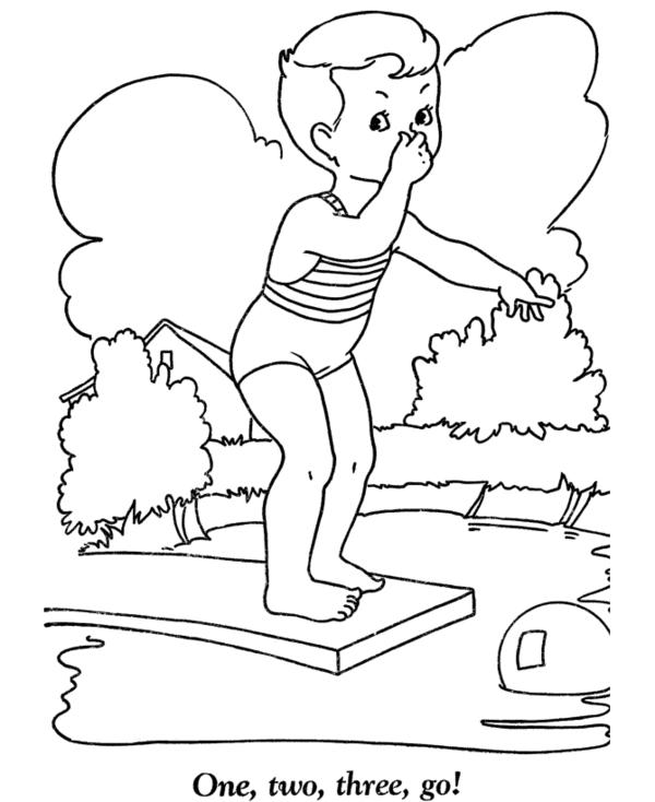 Best Toddler Summer Coloring Pages