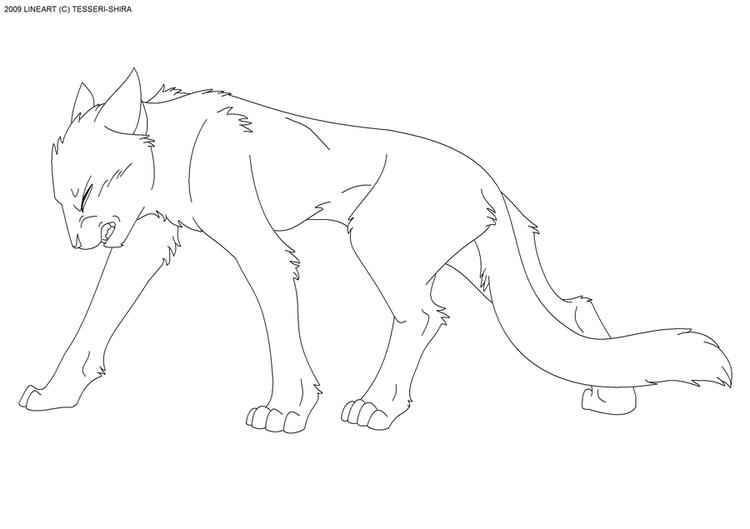 Best Warrior Cat Coloring Pages 1