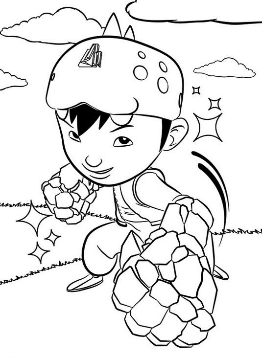Bestboboiboy Coloring Page In Action