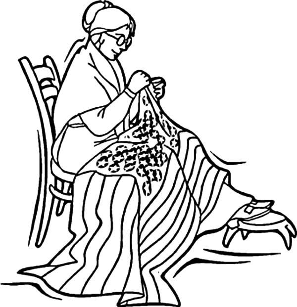Betsy Ross Sewing American Revolution Flag Coloring Pages