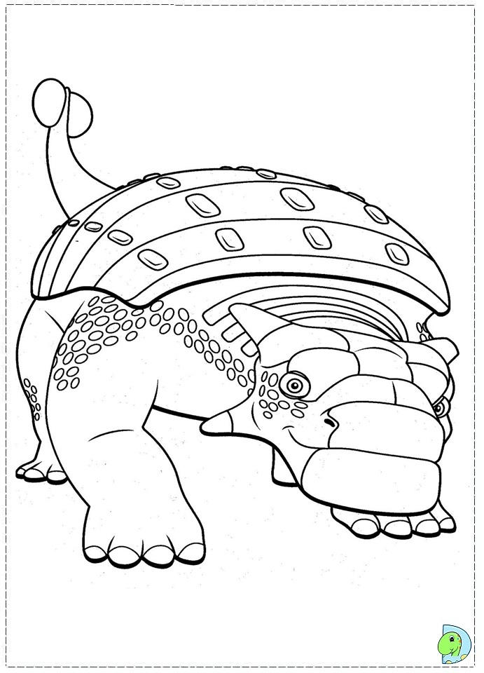 Big Dinosaur Train Coloring Pages