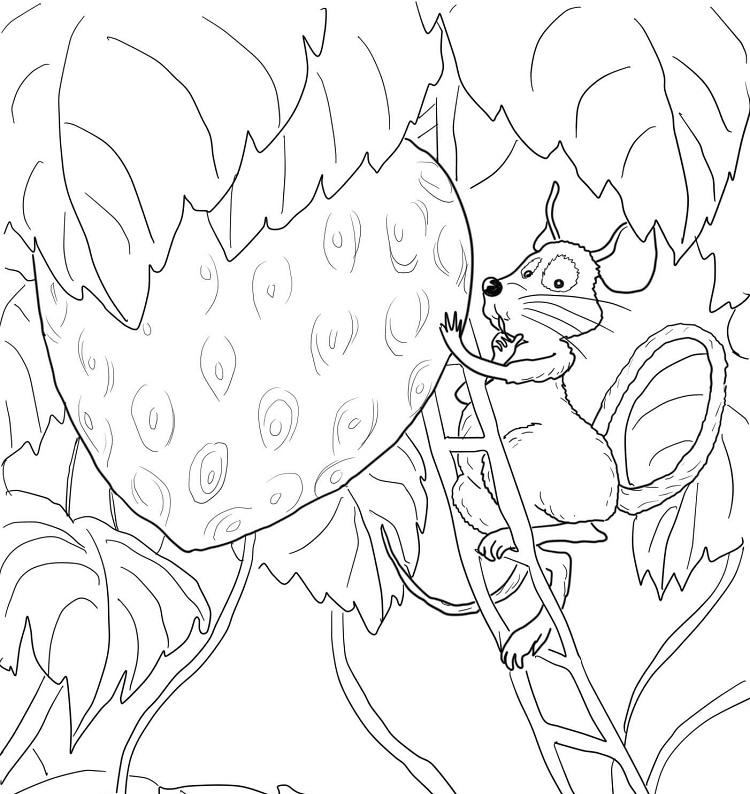 Big Hungry Bear Coloring Pages