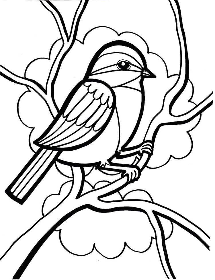 Bird Coloring Pages Free To Print