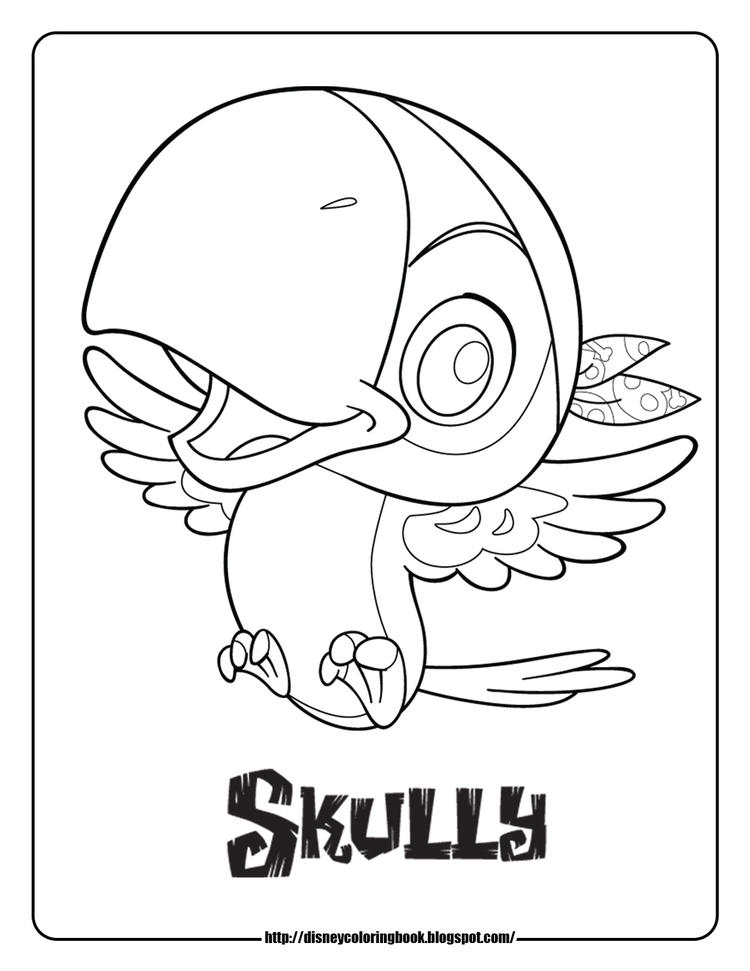 Birds Jake And The Neverland Pirates Coloring Pages