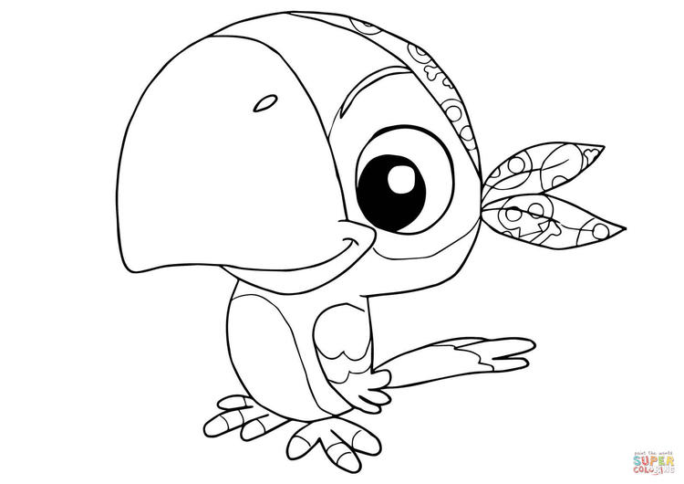 Birdsjake And The Neverland Pirates Coloring Pages