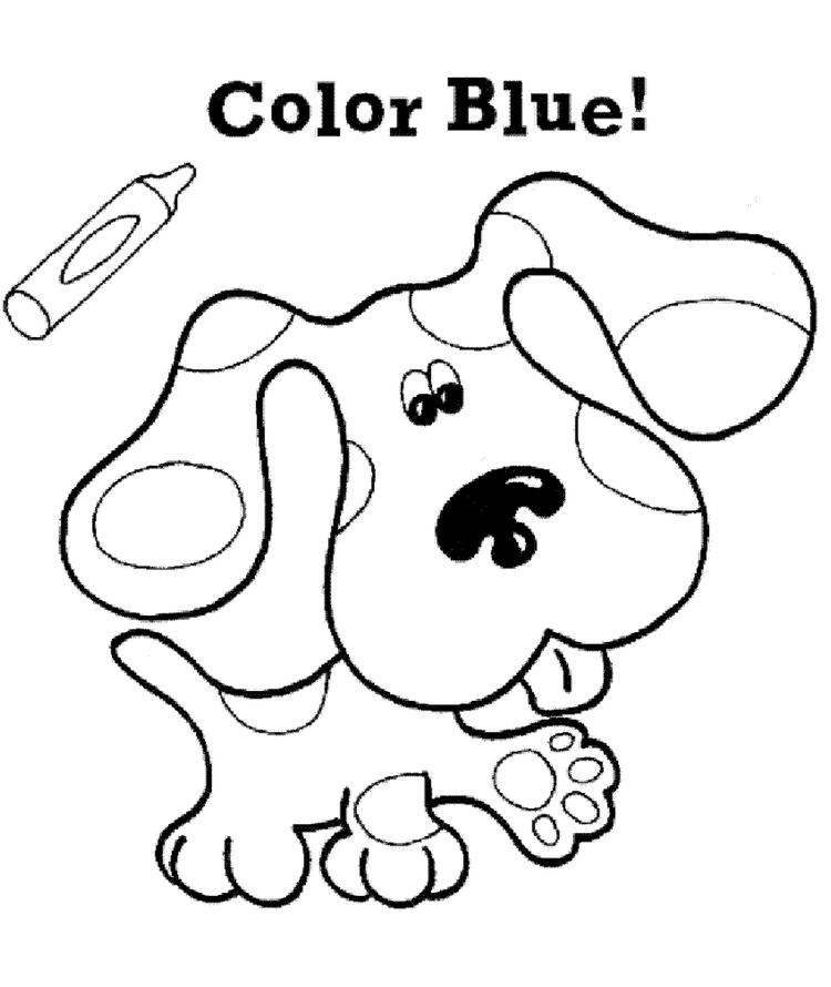 Blues Clues Coloring Pages Printable