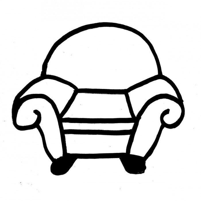 Blues Clues Coloring Pages Thinking Chair