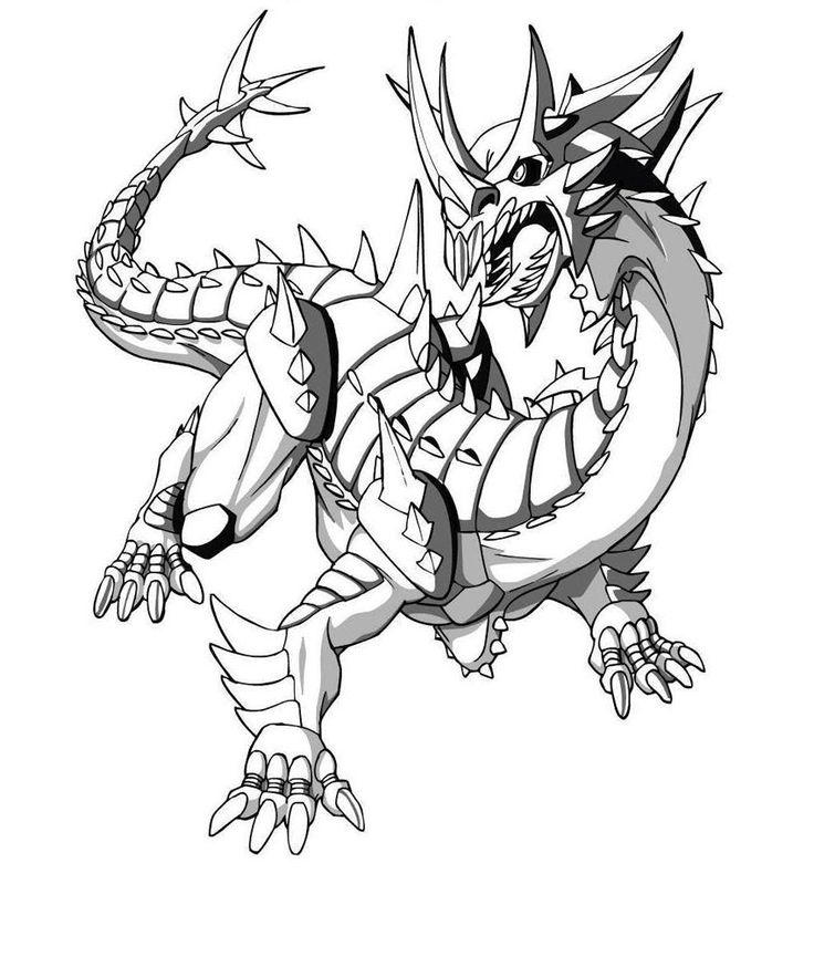 Boy Coloring Pages Dragon
