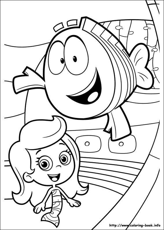 Bubble Guppies Coloring Pages To Print 1