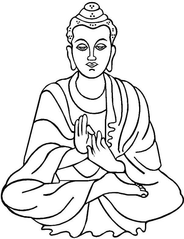 Buddhist Coloring Sheets
