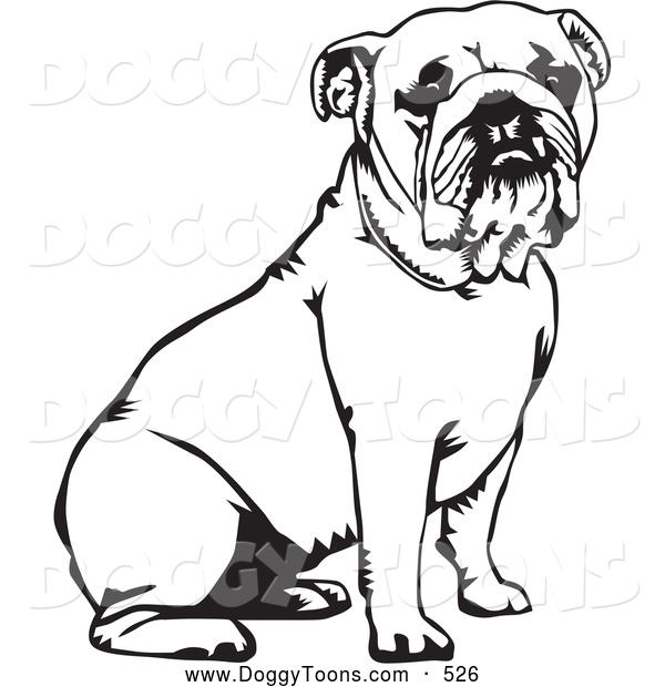 Bulldog Coloring Pages For Child