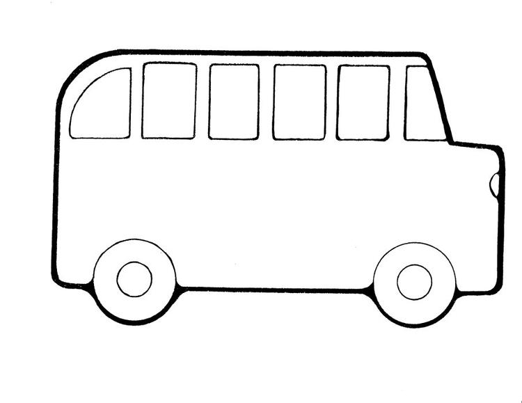Bus Back To School Coloring Pages For Preschool