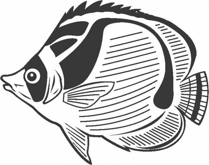 Butterfly Fish Coloring Pages