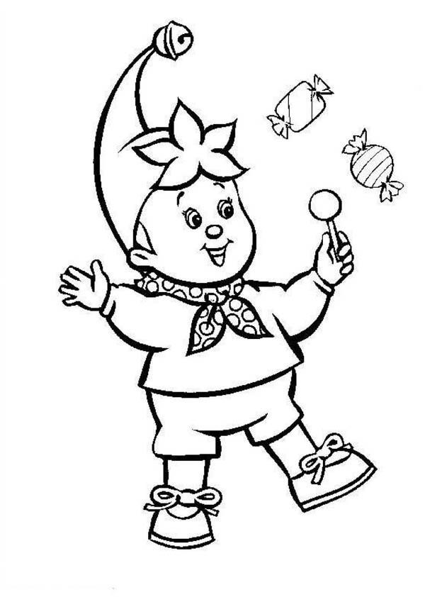 Buy A Lot Of Candy At Circus And Carnival Coloring Pages