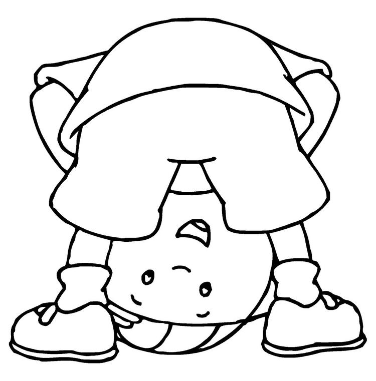 Caillou Coloring Pages Printable