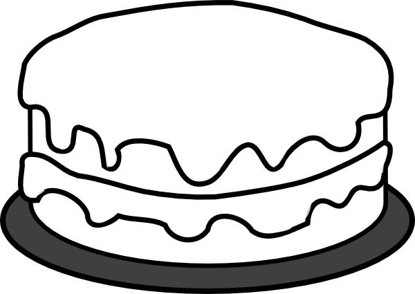 Cake Coloring Pages For Preschooler