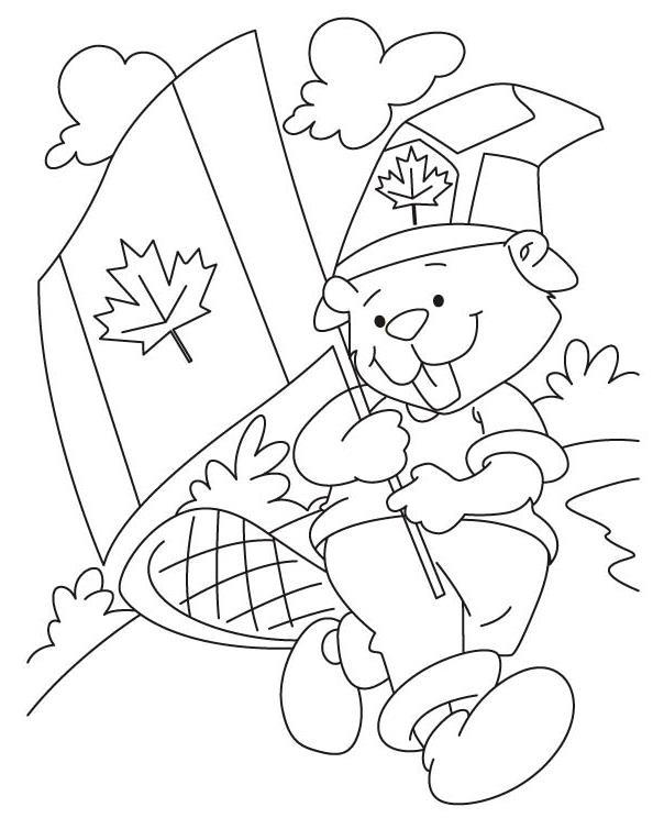 Canada Day Coloring