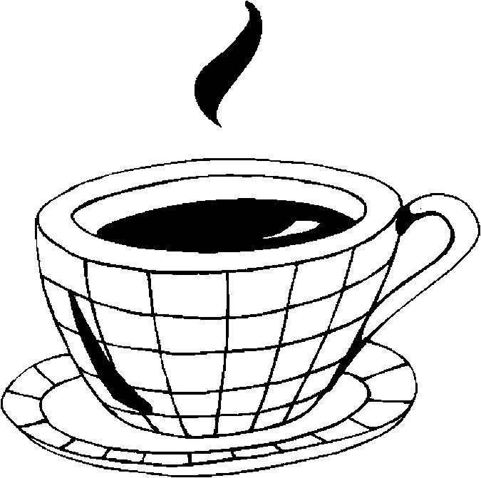 Cappuccino Coloring Pages