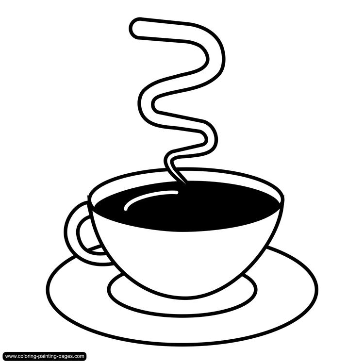 Cappucino Coloring Pages