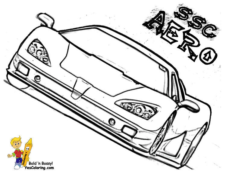 Car Coloring Pages For Teenagers Boys 1