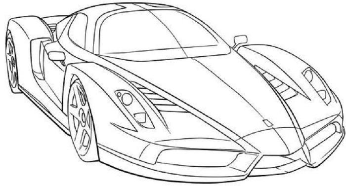 Cars Coloring Pages For Adults