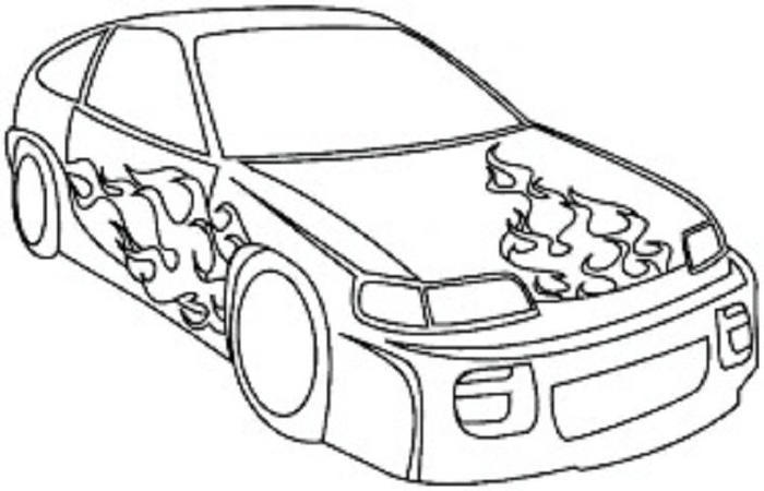 Cars Coloring Pages Pdf