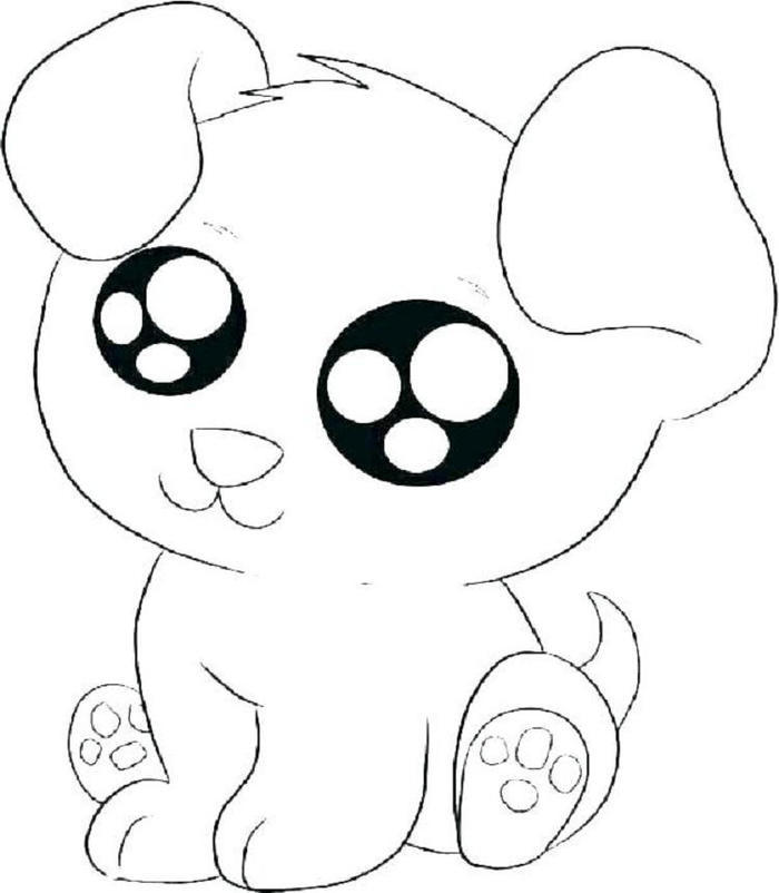 Cartoon Kittens Coloring Pages