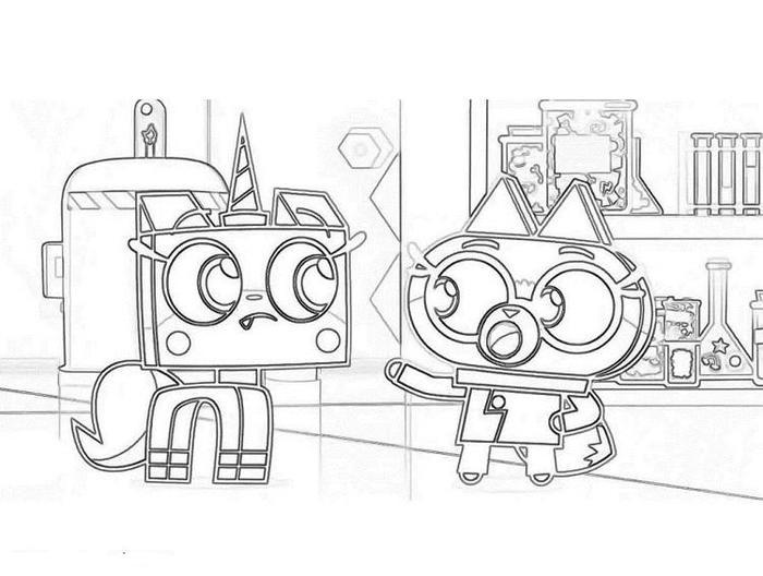 Cartoon Network Unikitty Coloring Pages