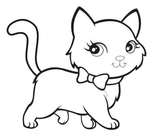 Cat Coloring Pages 02