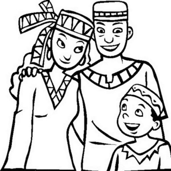 Celebrating Kwanzaa Coloring Pages