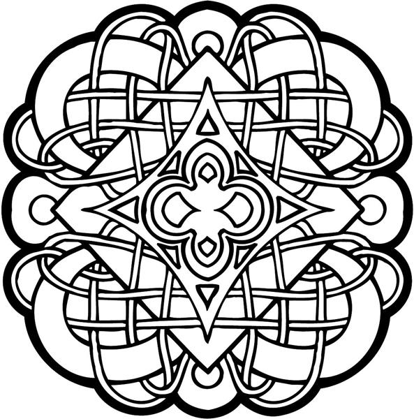 Celtic Coloring Pages Printable