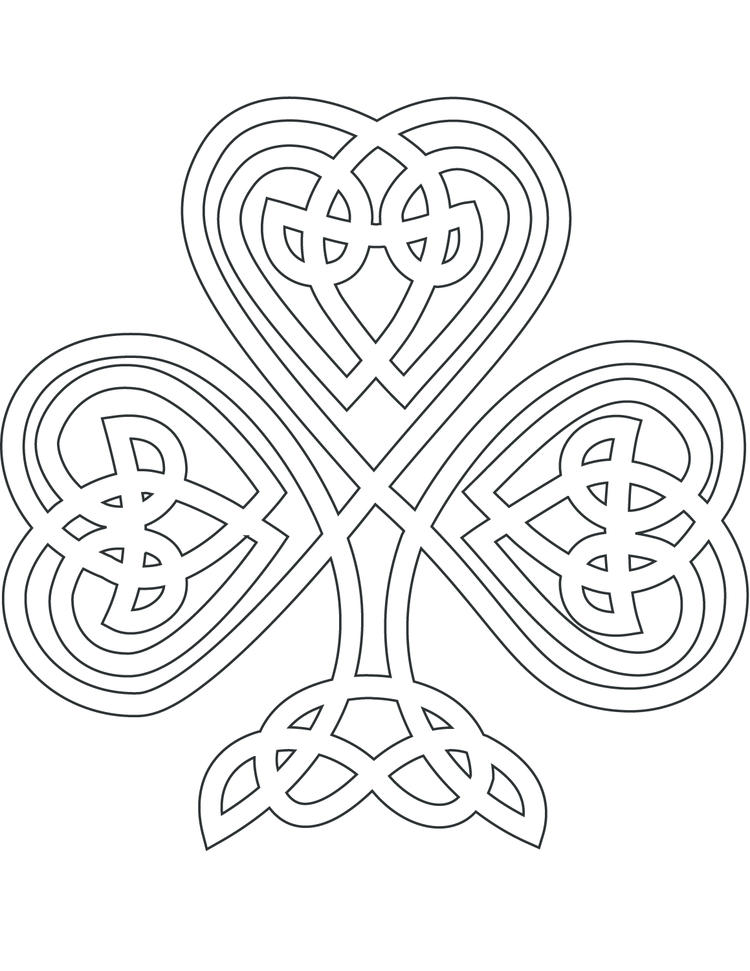 Celtic Coloring Pages To Print