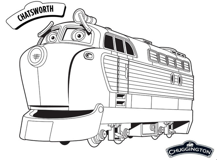Chatsworth Chuggington Coloring Pages