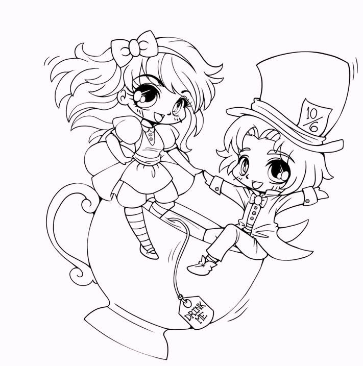Chibi Coloring Pages 05