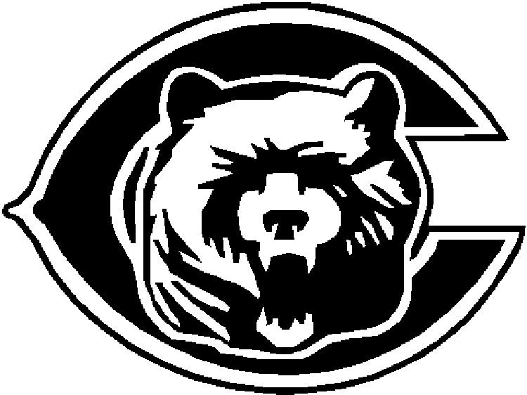 Chicago Bear Coloring Pages