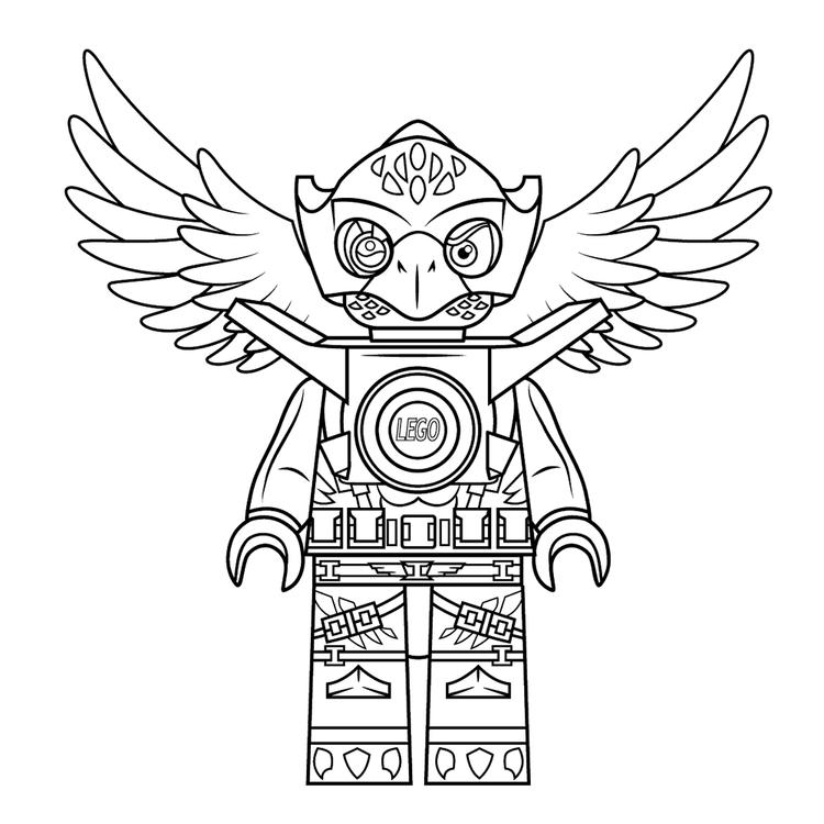 Chima Coloring Pages Eglor Eagle