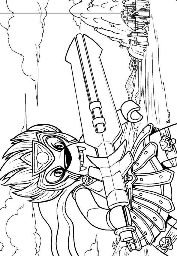 Chima Coloring Pages Laval