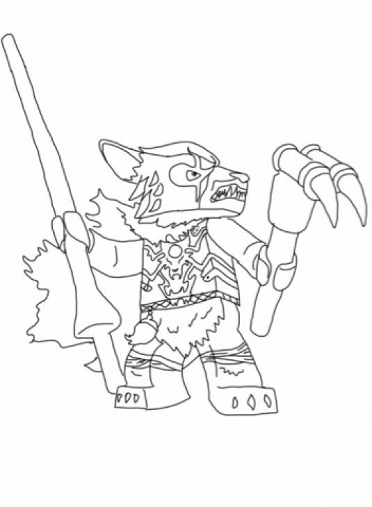 Chima Coloring Pages Worriz