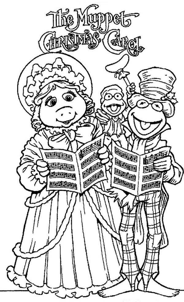 Christmas Eve The The Muppets Show Coloring Pages