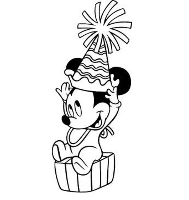 Christmast Baby Disney Coloring Pages