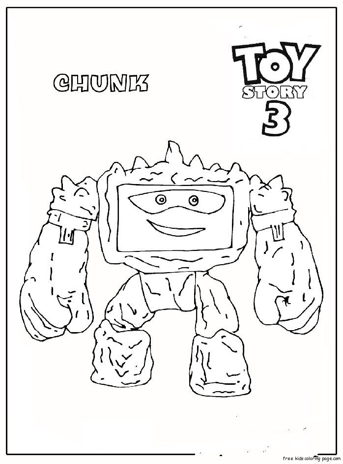 Chunk Toy Story 3