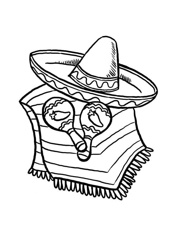Cinco De Mayo Coloring Pages Free To Print - Coloring Ideas