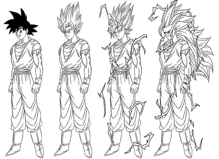 Coloring Pages Dragon Ball Z01