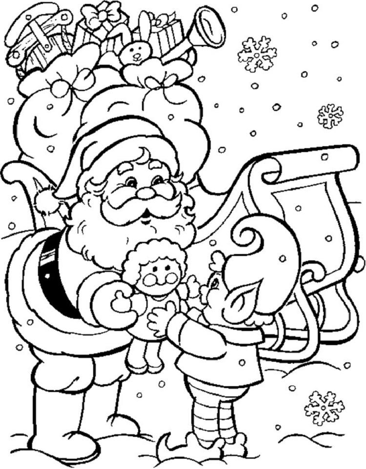 Coloring Pages For Christmas