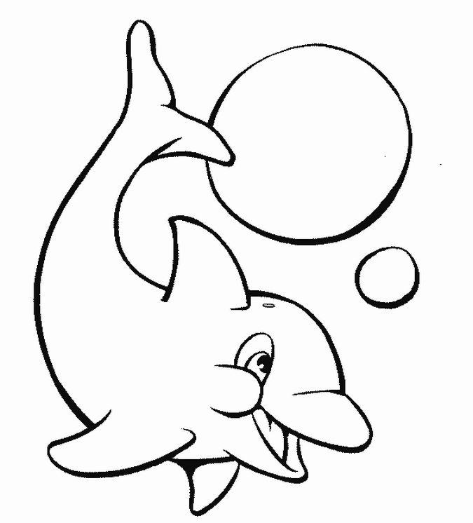 Coloring Pages For Girls Dolphins