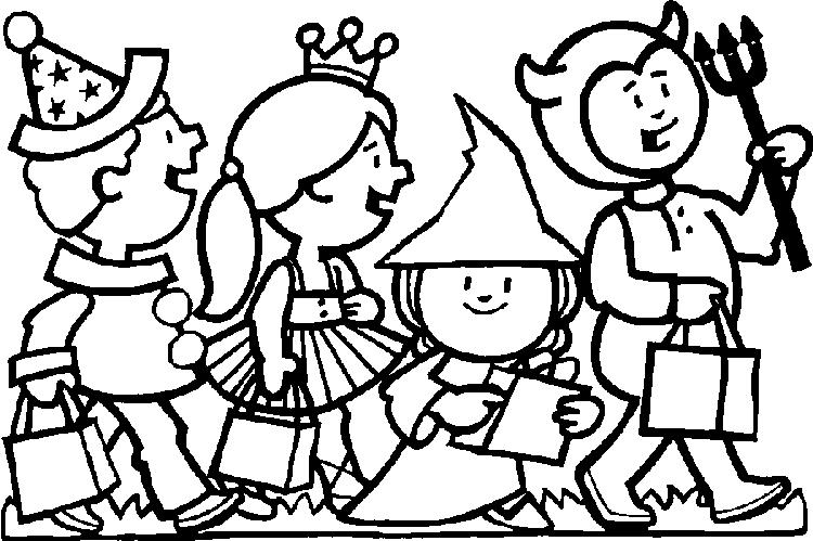 Coloring Pages For Kids About Halloween