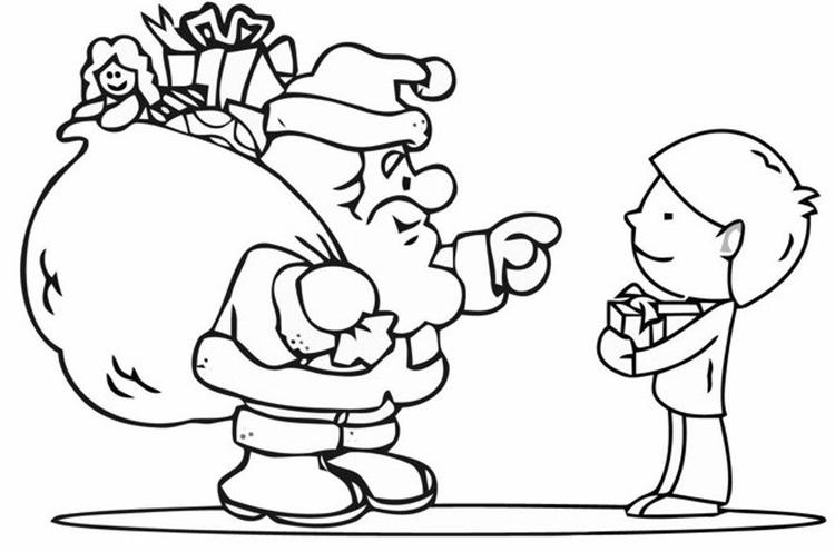 Coloring Pages For Kids For Christmas Free
