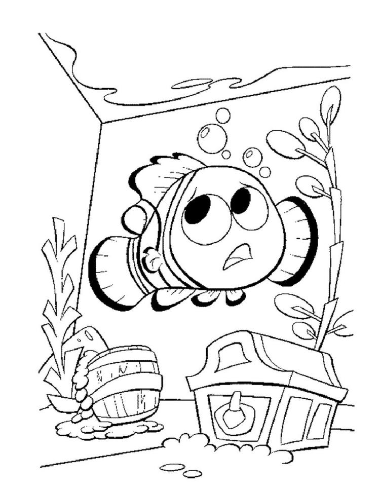 Coloring Pages For Kids Nemo Printable