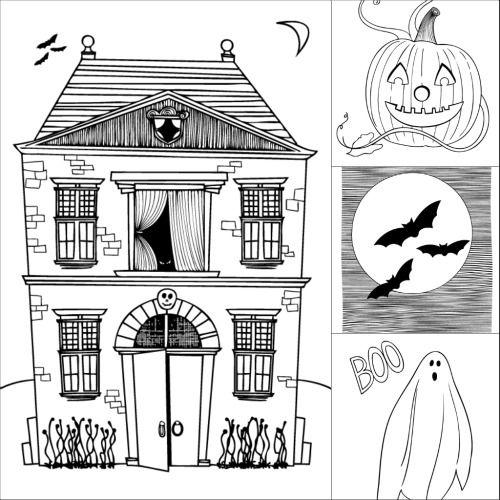 Coloring Pages Free Halloween To Print Out